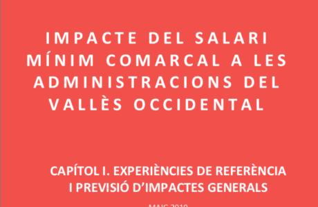 Impacte del salari mínim comarcal a les administracions del Vallès Occidental