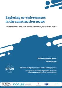Exploring co-enforcement _Exploring coenforcement SPLIN